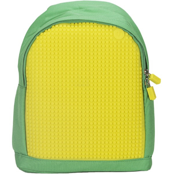 Рюкзак Upixel Junior Зеленo-желтый
