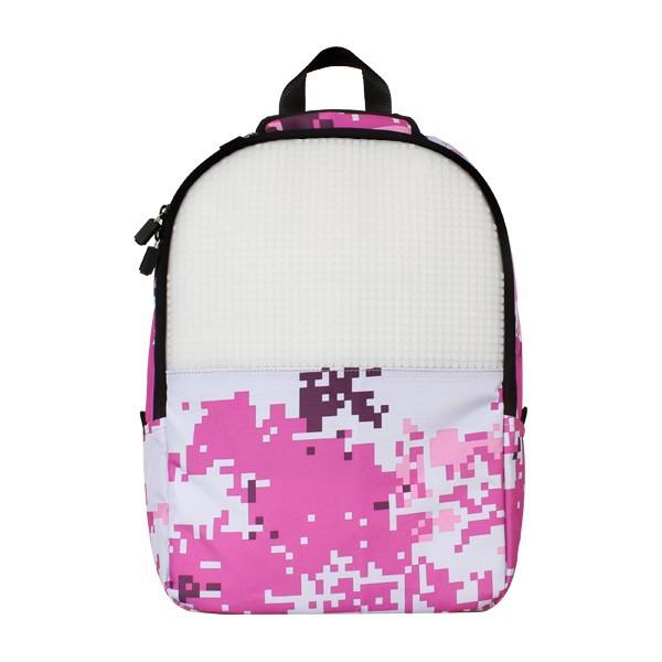 Рюкзак Upixel Camouflage Розово-белый