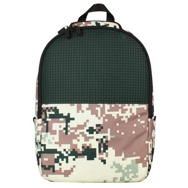 Рюкзак Upixel Camouflage Зелено-коричневый
