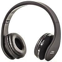 Стерео Bluetooth-гарнитура NX-8252 черная для телефона общения музыки плеер блютуз бесповодная мультимедийная