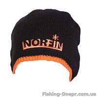 302773-BL-L Шапка вязаная NORFIN (чёрная)