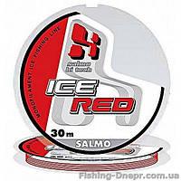 4941-017 Леска моно зимняя  SALMO HI-TECH ICE RED 30м