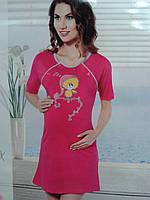 Ночная рубашка для кормления , туника, ночнушка Dalmina, Турция