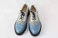Полуботинки броги женские / Women`s brogues