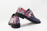 Оксфорды женские кожаные / Women's Oxford shoes leather