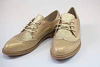 Полуботинки броги женские / Women's brogues