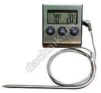 Термометр цифровой с таймером