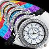 Часы женские Geneva Crystal  purple (фиолетовый), фото 2