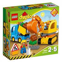 Конструктор Грузовик и гусеничный экскаватор Lego  Duplo