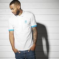 Стильная мужская футболка-поло с воротником Reebok BK5153 - 2017
