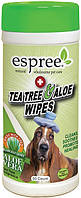 Е01423 Espree Tea Tree and Aloe Healing Wipes, 50 шт