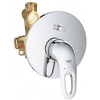 Смеситель для ванны скрытого монтажа Grohe Eurostyle New 33637003