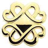 Ручка Bosetti Marella D 24108.01.030 золото полированное, фото 2