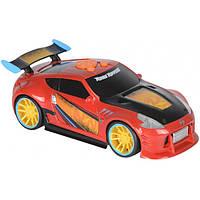 Машина Toy State Nissan 370Z Sebastien Loeb  Крутой разворот свет и звук 21 см