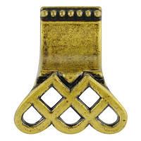 Ручка Ferro Fiori D 4060.01 античная бронза, фото 1