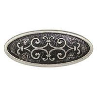 Ручка Ferro Fiori D 4110.032 античное серебро, фото 1