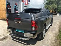 Защита заднего бампера Toyota Hilux 2016+, фото 1