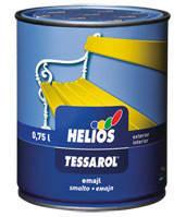 Эмаль Helios Tessarol Хелиос Тесарол  бордовая  0,75 л