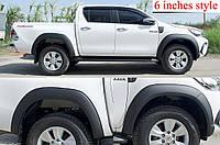 Расширители арок Toyota Hilux 2016+, фото 1