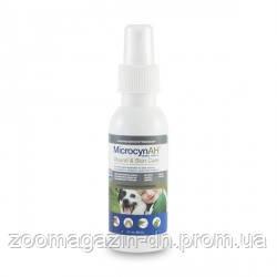 Microcyn Микроцин WOUND&SKIN CARE LIQUID спрей для обработки ран и ухода за кожей всех видов животных, спрей-жидкость90 мл