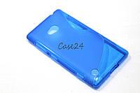 Чехол накладка для Nokia Lumia 720 синий, фото 1