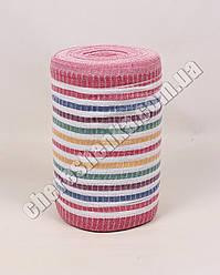 Ткань для полотенец на красной основе (50м)