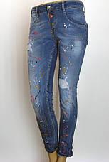 Жіночі джинси з оригінальним принтом Dsquared 2 , фото 3
