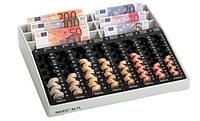 Кассовый лоток под купюры и монеты, Евро, 350 x 305 x 65 мм, пластик