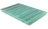 Вставка для столовых приборов 1000/500мм, цвет: зеленый