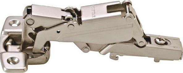 Петля METALLA D SM N 165 ° сталь никелированная шаблон: 45/9.5 под шуруп