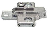 Планка монтажная Clip-Top/Clip под шуруп 0мм цамак, никелированная