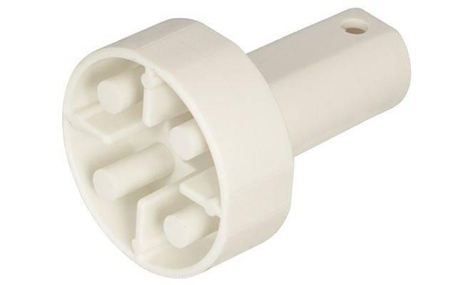 Пуансон контрольний (для глибини свердління 13,5мм), пластмасовий, білий