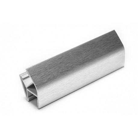 Соединитель угловой односторонний для цоколя 135 ° ПВХ H120