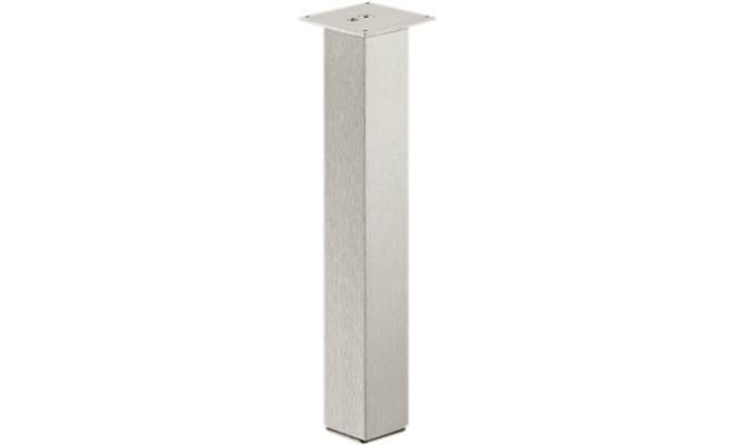 Ножка для стола алюминиевая лакированная 720 мм