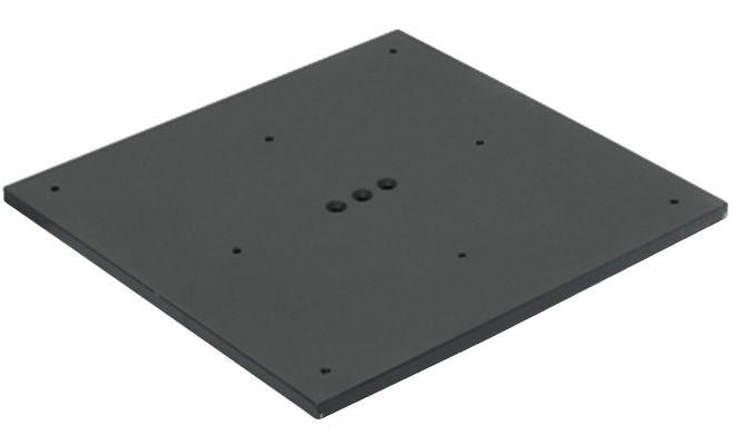 Опорная плита 600/600 мм, цвет: алюминий