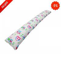 Подушка для беременных KIDIGO прямая Сова (с наволочкой)