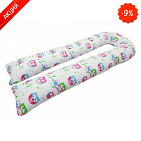 Подушка для беременных KIDIGO U-образная Сова (с наволочкой)