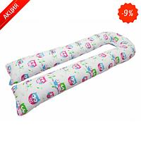 Подушка для беременных KIDIGO U-образная Сова (с наволочкой) (Kidigo)