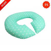 Подушка для беременных KIDIGO Рогалик - Звезды (с наволочкой)
