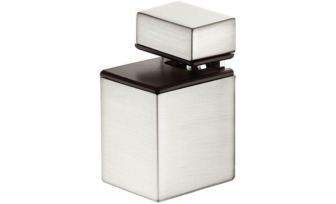 """Полкодержатель """"Пеликан"""" 4-20 мм, 30 x 37 x 36, цвет белого алюминия"""