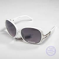 Распродажа женских солнечных очков оптом - Белые - 3554