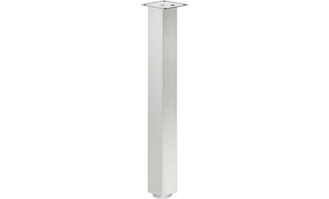 Опора для стола RONDELLA 100x100/870мм, цвета нержавеющей стали
