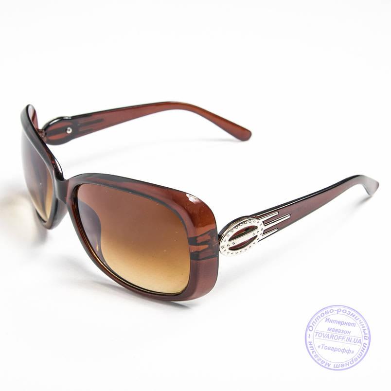 Распродажа женских солнечных очков оптом - Коричневые - 9974, фото 2