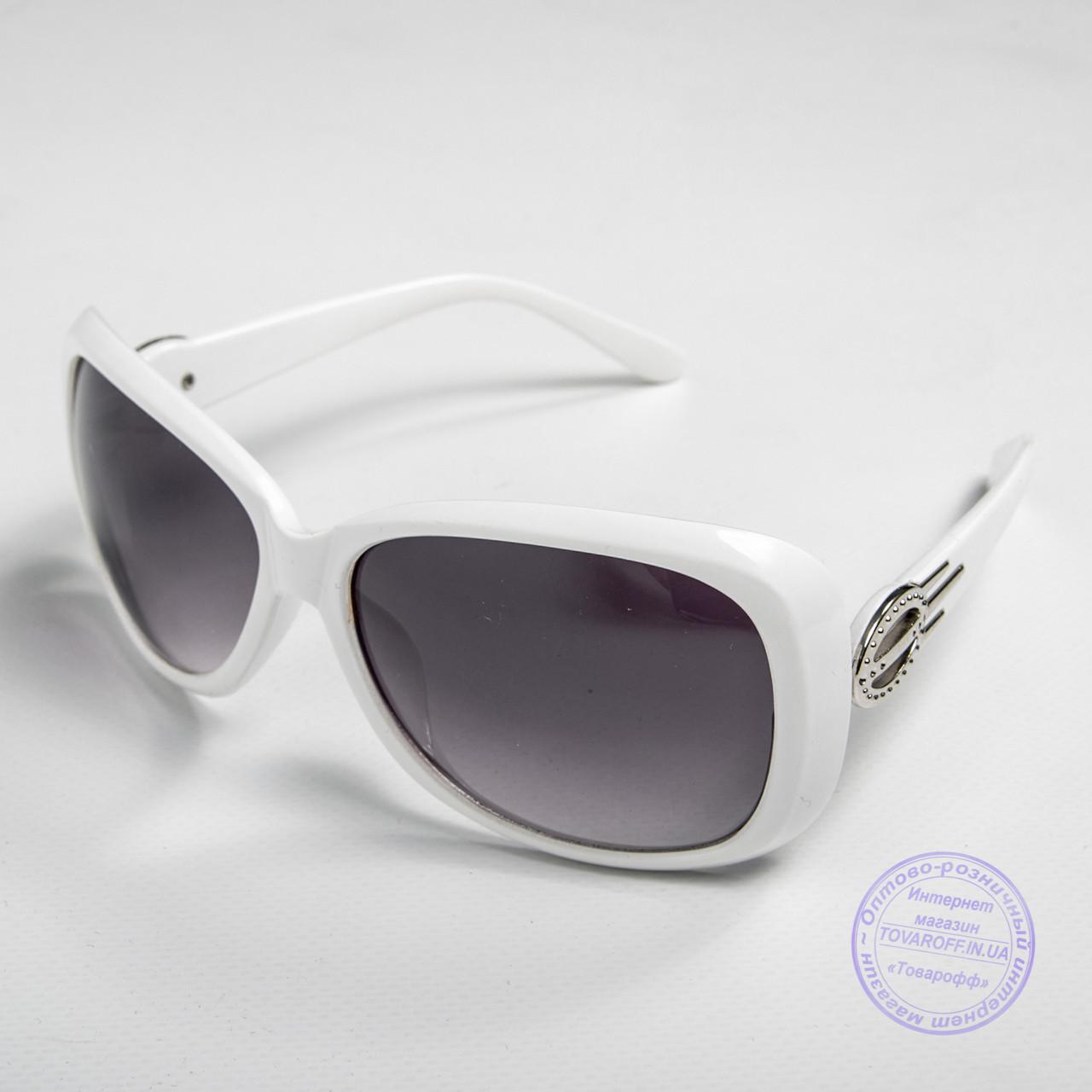 Распродажа женских солнечных очков оптом - Белые - 9974