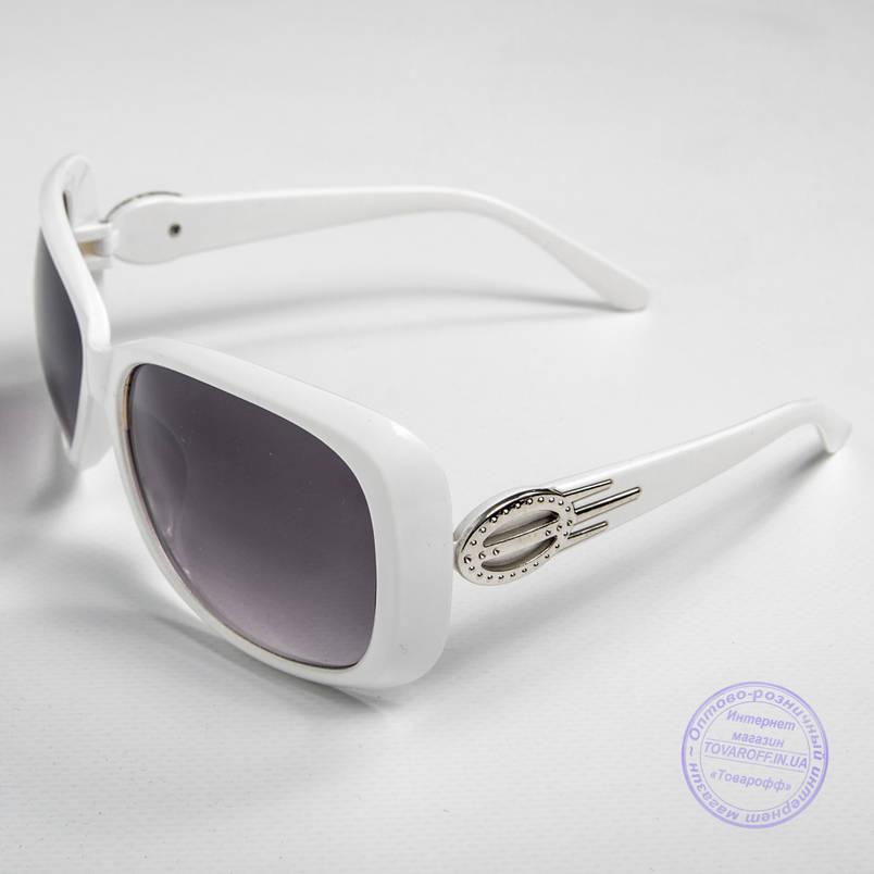 Распродажа женских солнечных очков оптом - Белые - 9974, фото 2