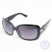 Распродажа женских солнечных очков оптом - Черные - TF-17