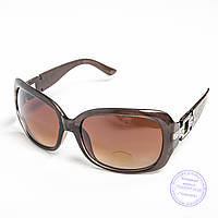 Распродажа женских солнечных очков оптом - Коричневые - TF-17