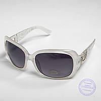 Распродажа женских солнечных очков оптом - Белые - TF-17