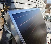 Реализованный объект в г. Днепр, всесезонная система нагрева воды (ГВС), на коллекторе HEWALEX
