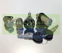 Комплект личинок замков+з/зажигания+з/багажника (без иммобилайзера) LANOS 4N  grog Корея 96213542